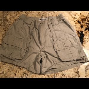 Women's Columbia Sportswear Cargo Shorts - 8